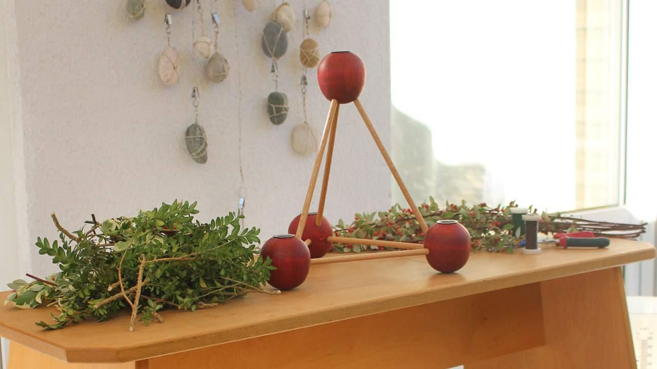 Paradeiserl aus Holz handmade